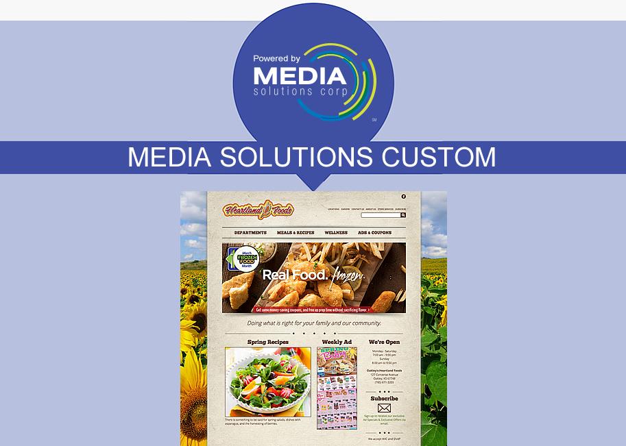 AWG Marketing - Media Solutions Custom website package