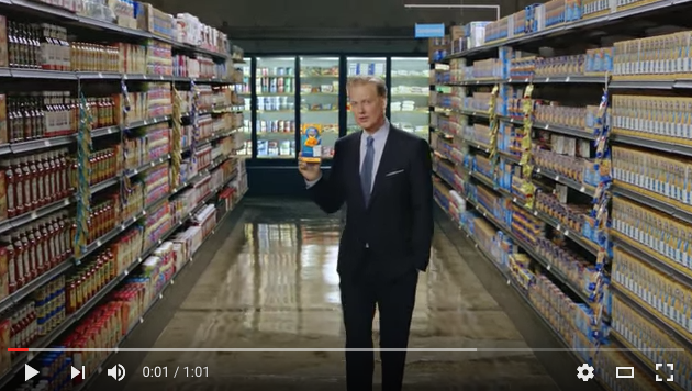 Screenshot of Kraft Commercial on YouTube
