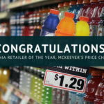 Congratulations! Insignia retailer of the year, McKeever's Price Chopper
