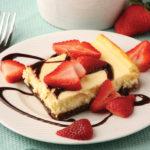 Cookie Crust Cheesecake Bars