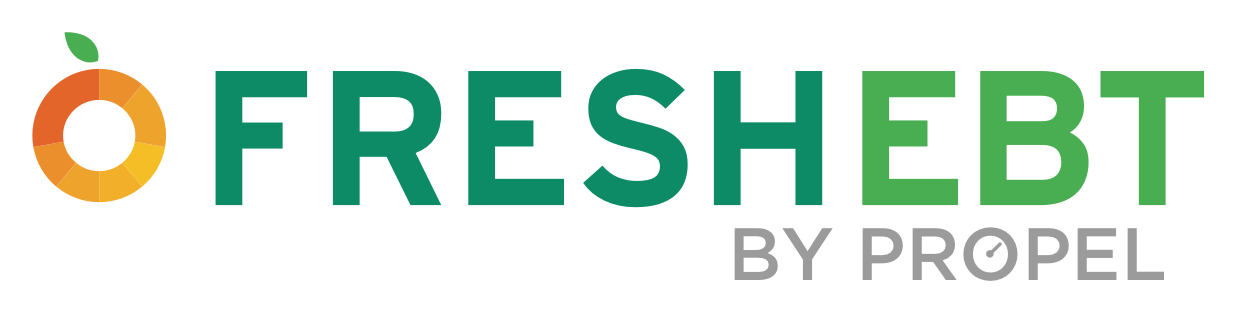Logo for Fresh EBT by Propel.