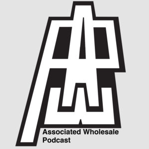 Large logo: AWP - Associated Wholesale Podcast