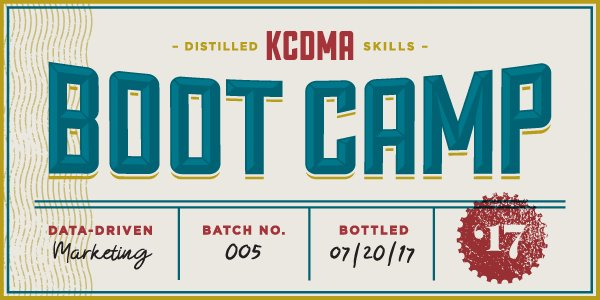 Graphic from KCDMA Marketing Boot Camp 2017