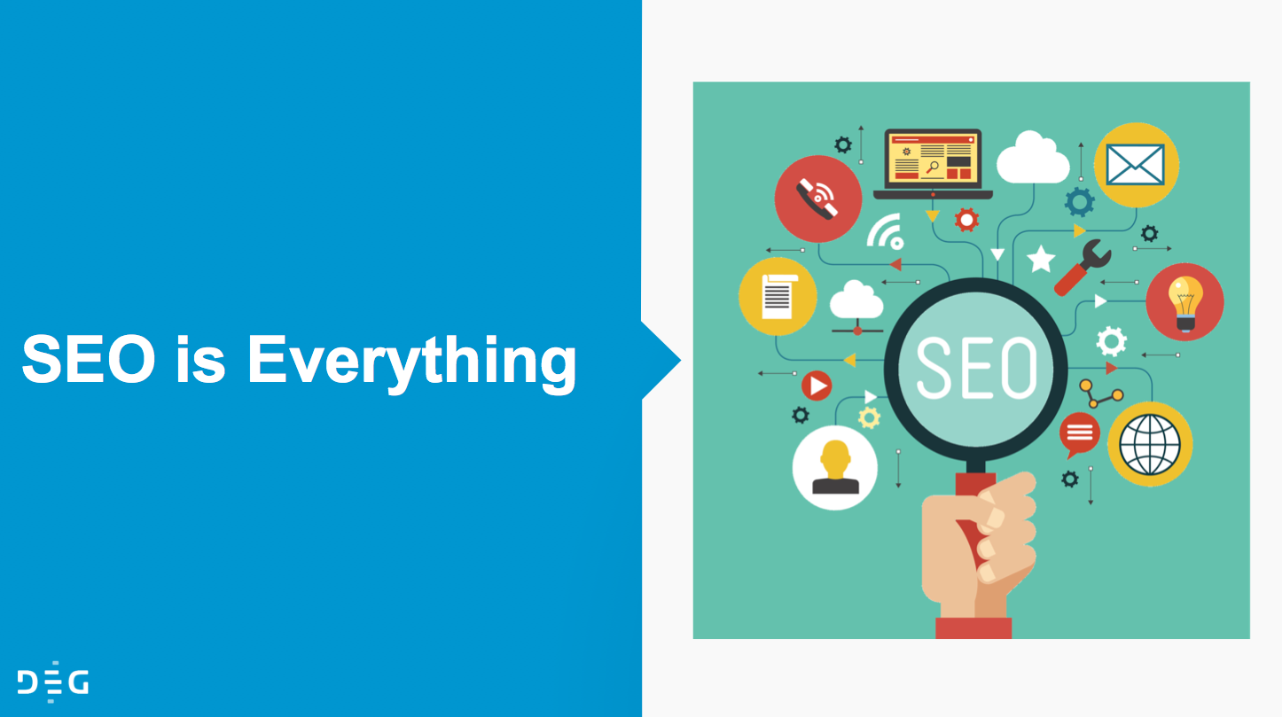 SEO is everything illustration from DEG