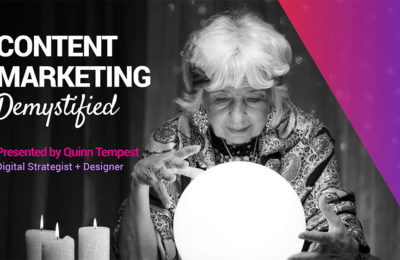 Content Marketing Demystified