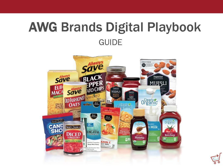 AWG Brands Digital Playbook Cover