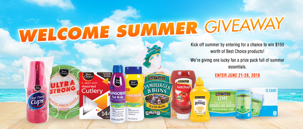 Welcome Summer Giveaway Poster