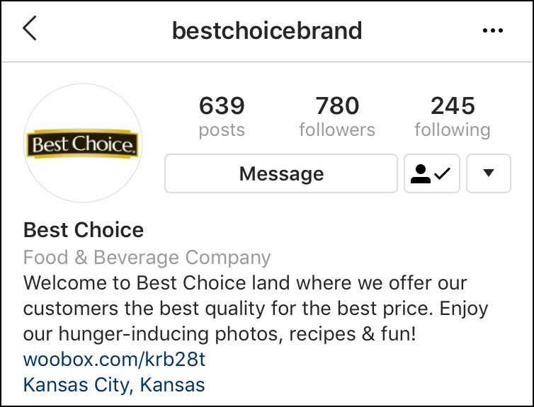 Instagram Bio Link