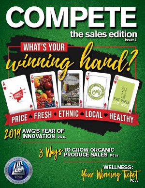 Cover image of Compete Magazine THE SALES EDITION