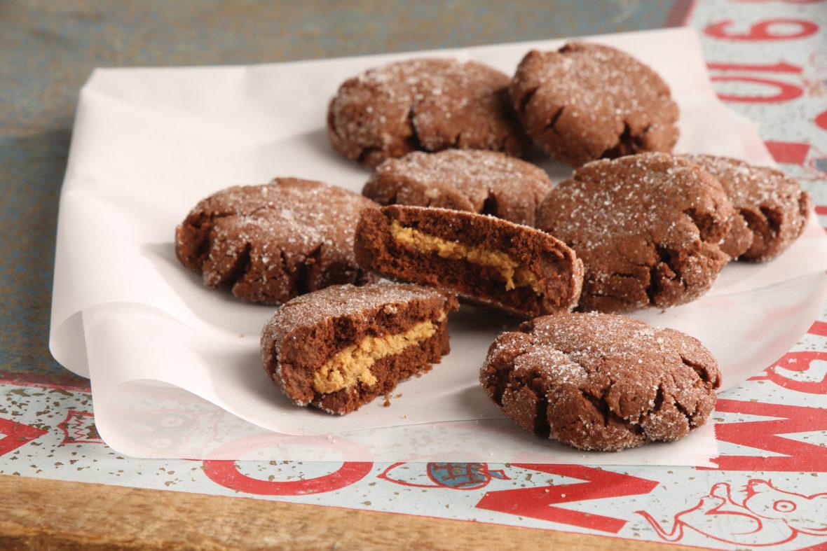 Peanut butter surprise cookiesBest Choice calendar recipe0418