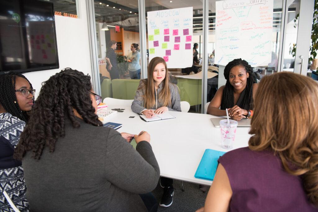 Photo of women meeting