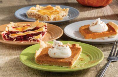 Thanksgiving Pie Four Ways