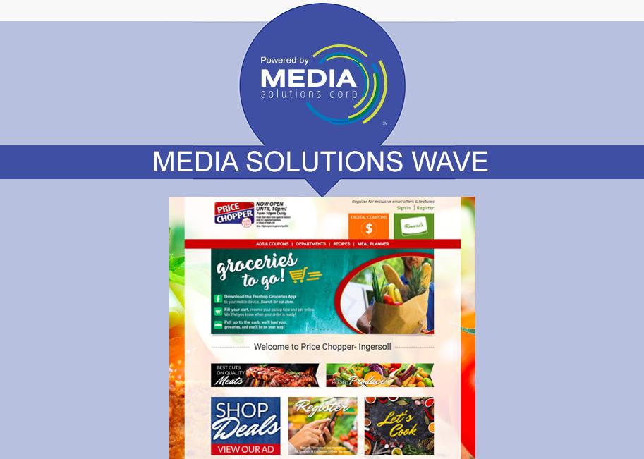 Media Solutions WAVE website